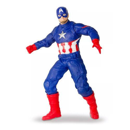 Boneco Gigante Capitao America Revolution Marvel Mimo 514