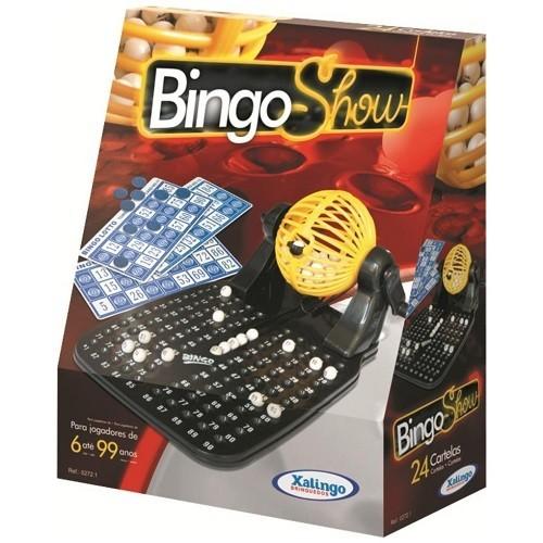 Bingo SHOW 24 Cartelas Xalingo 0517.6