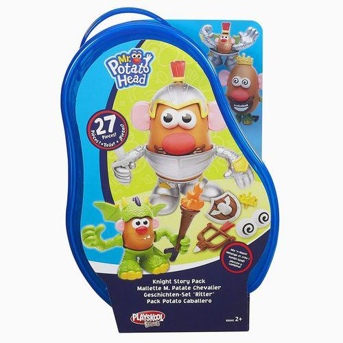 Figura Mashup Playskool  MR. Potato Head Cavaleiro Hasbro B6453/B6846 11523
