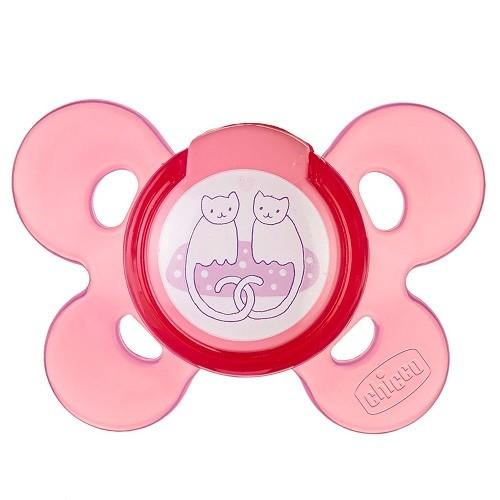 Chupeta Comfort Rosa SIL 6-12 Meses Chicco 749131