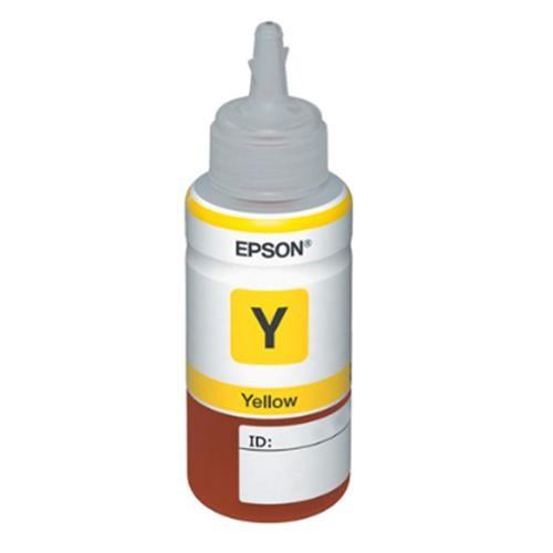 Refil de Tinta EPSON Amarelo para Impressora L200/L355/L555 - T664420-AL