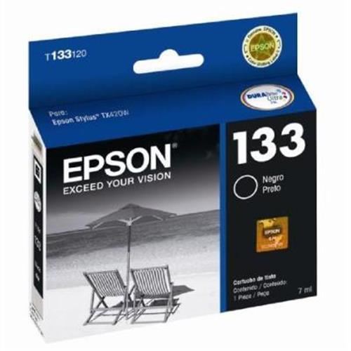 Cartucho EPSON T133120-AL Preto - T133120-BR