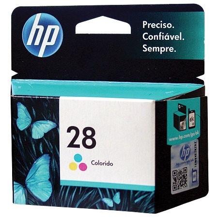 Cartucho HP 28 C8728AB Tricolor 9ML