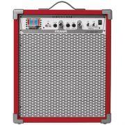 Caixa Amplificada FRAHM LC400 BT Vermelha 31224