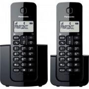 Telefone sem Fio com Base + Ramal com ID KX-TGB112LBB Preto Panasonic