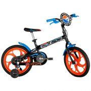 Bicicleta Caloi HOT Wheels ARO 16 Preta 450023.19342 44270