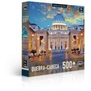 QUEBRA-CABEÇA 500 Peças -BASILICA de Sao Pedro Italia Game Office 2305