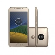 Smartphone Motorola Moto G5 Geracao Tela 5,0 32B Dual CHIP Camera 13MP 4G Ouro XT1672