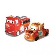 Carro de Vinil com 2 Unidades Carros TOW Mater e RED Lider 629