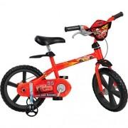 Bicicleta Infantil Disney Carros ARO 14 Bandeirante 2336