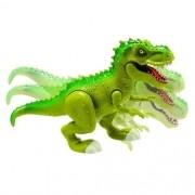 Dinossauro com LUZ e Som Tiranossauro ATTACK Verde Adijomar 847