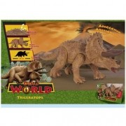 Dinossauro Dino WORLD Triceratops Cotiplas 2089