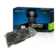 Geforce Galax GTX Entusiasta Nvidia 80NSJ6DHL4EC  GTX 1080 EXOC 8GB DDR5X  256BIT 10GBPS DVI HDMI DP