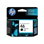 Cartucho HP 46 Preto CZ637AL 26 ML