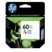 Cartucho HP 60XL Jato de Tinta Tricolor 15,5ML - CC644WB