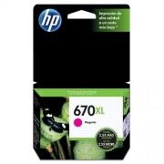 Cartucho HP 670XL Magenta 8ML - CZ119AB