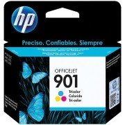 Cartucho HP 901 Officejet Jato de Tinta Tricolor 13ML CC656AB