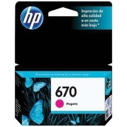 Cartucho HP 670 Magenta 4ML CZ115AB