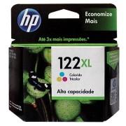 Cartucho HP 122XL Tricolor 7,5ML CH564HB