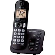 Telefone sem Fio com ID 6.0 1.9 GHZ KX-TGC220LBB Secretaria Eletronica Expansivel ATE 6 Ramais Panasonic