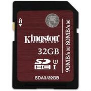 Cartao de Memoria Kingston Micro SDHC 32GB UHS-I Classe 3 U3 SDA3/32GB