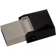 Pen Drive 32GB USB 3.0 Kingston USB Dtduo Data Traveler Micro DTDUO3/32