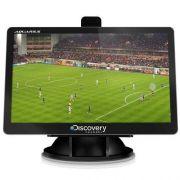 GPS Tela 4.3 Aquarius Discovery Channel com TV Digital MTC3653