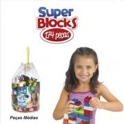 Super BLOCKS 174 Peças Riber BRINK 2800