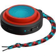 Caixa Multimidia 2W Wireless e Bluetooth BT2000R/00 Vermelho e AZUL Philips