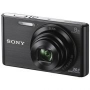 Camera Digital SONY DSC-W830 20.1MP CYBER-SHOT 8X Zoom Preta USAR 4905524972528