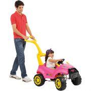 Carrinho SMART Passeio Pedal Rosa Bandeirante 469