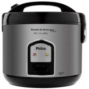 Panela de ARROZ Philco PH10 com Visor GLASS Preta 127V