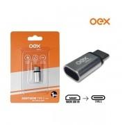 Adaptador Micro USB para TYPE C (USB-C) OEX AD202