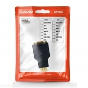 Adaptador VGA Femea DP Macho ADP-101BK PLUS Cable