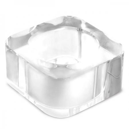 Anel de Guardanapo Vidro Quadrado Mimo STYLE AG1872 6355