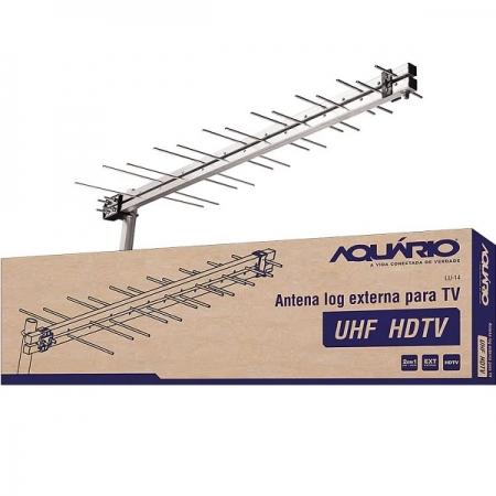 Antena Digital HDTV UHF LOG LU14 Aquario