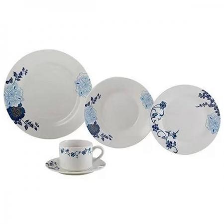 Aparelho de Jantar 20 Peças Porcelana Classic LYOR 2138
