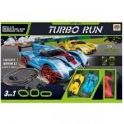 Auto Pista Turbo RUN Circuito 3 Formatos DM TOYS DMT5891