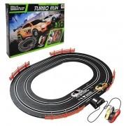 Auto Pista Turbo RUN Circuito OVAL DM TOYS DMT5890