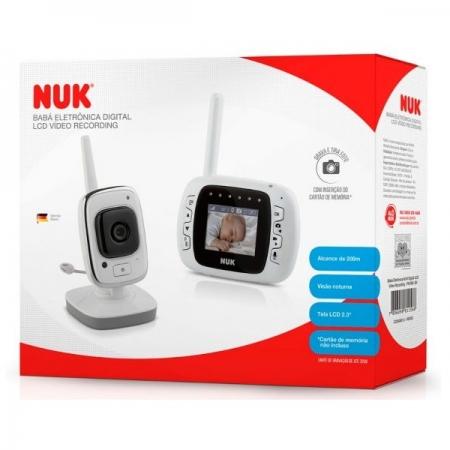 Baba Eletronica NUK Digital LCD Video Recording NUK PA7861-BV