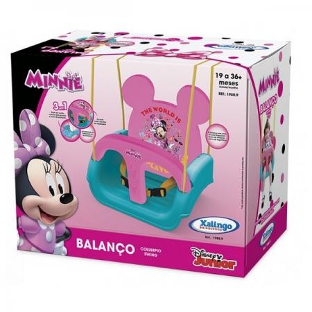 Balanço Infantil com Encosto Regulavel Minnie Xalingo 1980.9