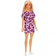 Barbie Fashion Mattel Loira Vestido Rosa T7439/GHW45