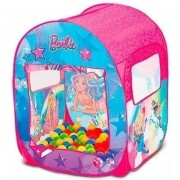 Barraca Infantil Barbie Mundo dos Sonhos 50 Bolinhas FUN 8489-6