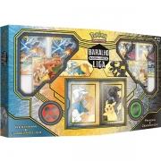 Batalha de Liga Pokemon Pikachu e Zekrom Reshiram e Charizard Copag 90980