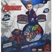 Bateria Infantil Marvel Vingadores TOYNG 34473