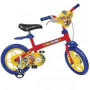 Bicicleta ARO 12 Patrulha Canina Bandeirante 3277