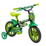 Bicicleta Infantil ARO 12 BLACK Preto e Verde Stone Bike 226