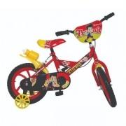 Bicicleta Infantil ARO 14 Bike da Turma Vermelho Unitoys 1501