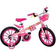 Bicicleta Infantil Princesas Disney ARO 16 Bandeirante 2198