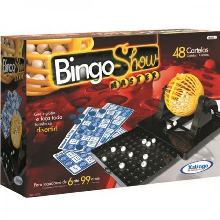 Bingo SHOW 48 Cartelas Xalingo 0519.8